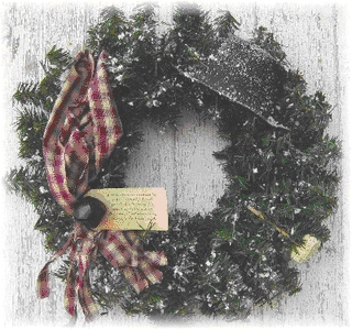 Snow Days Pine Wreath-wreaths, snowdays, pine,