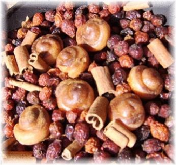 Cinnamon Bun Rosehip Fixins