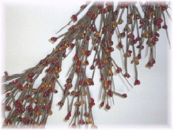 Mustard and Burgundy Garland - 60""