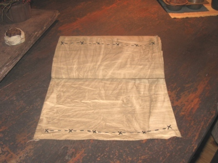 Aged Colonial Table Runner