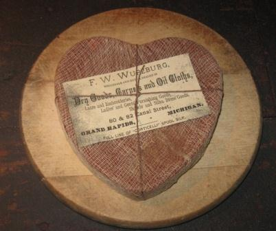 Large Beeswax  Mercantile Heart
