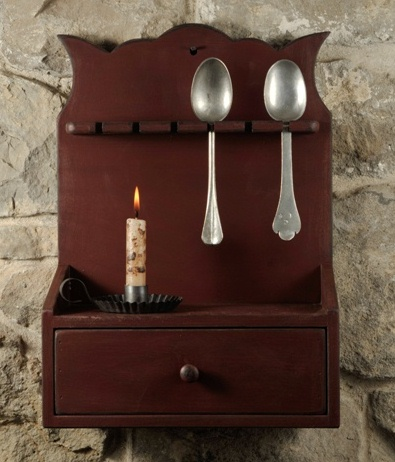 Cape Top Spoon Rack-spoon racks, wood decor, primitive spoon racks, country spoon racks,