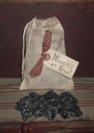 """Grungy Coal Tart Bag, 4"""" x 6"""""""