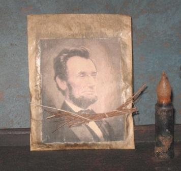 Colonial Pantry Simmering Potpourri Satchel - Abraham Lincoln