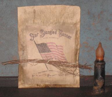Colonial Pantry Simmering Potpourri Satchel - Star Spangled Banner III