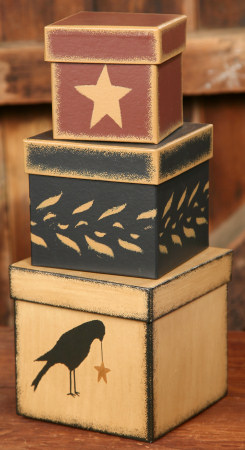 Crow Nesting Boxes-nesting boxes, crows, primitive,