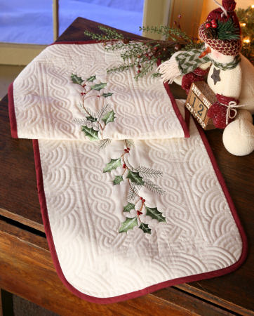 Holly Berry Collection - Table Runner