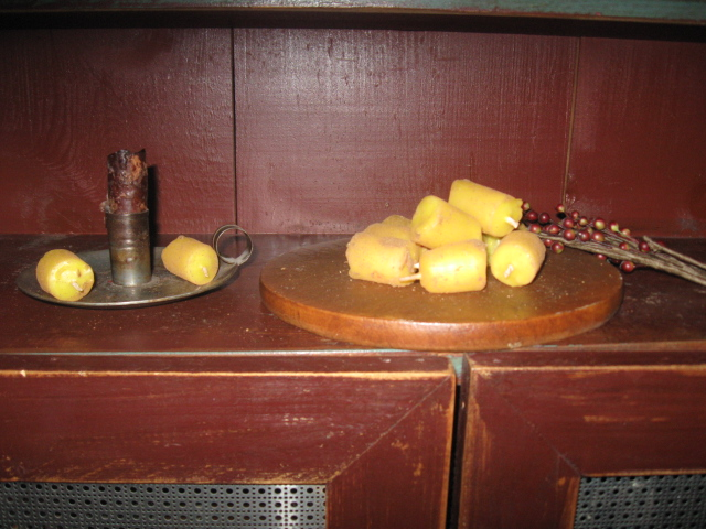 Tavern Pub Candles, Beeswax  - Nubbies