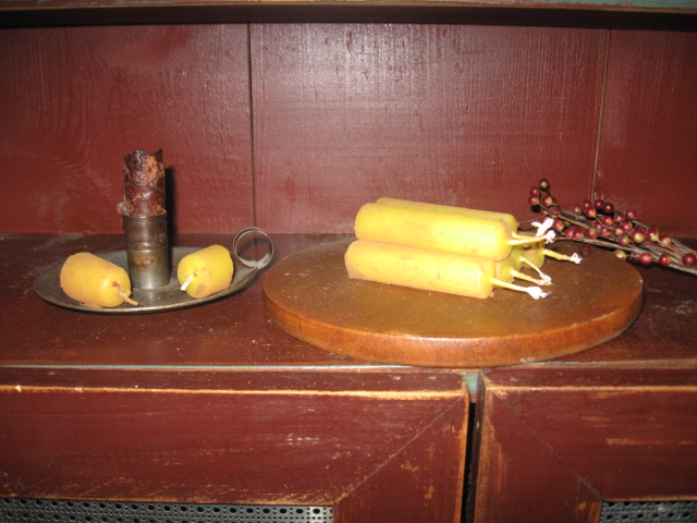 Tavern Pub Candles, Beeswax  - Stubs