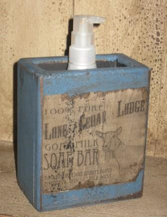 "Large Soap Box - ""Goat Milk Soap Bar"""