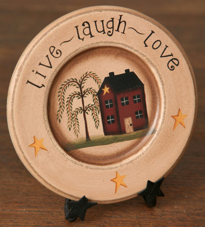 Live, Laugh, Love Collection - Wooden Plate