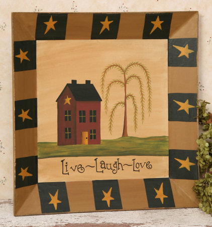 Live, Laugh, Love Collection  - Plate, Square