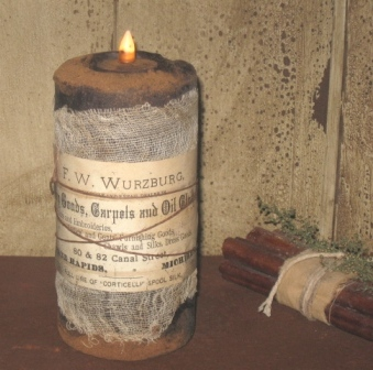 Mercantile  3 x 6 Cupboard Pillar Candle