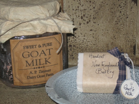 New England Buttr'y - Goat's Milk Soap