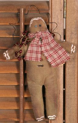 Ornament - Gingerbread Man, Berries