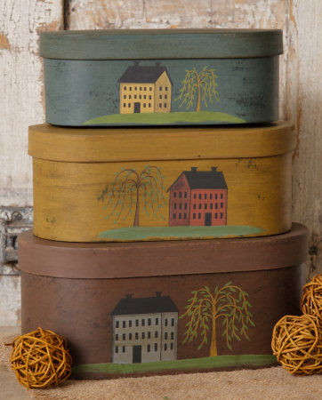 Nesting Boxes - Primitive Houses-nesting boxes, primitive houses, country nesting boxes,