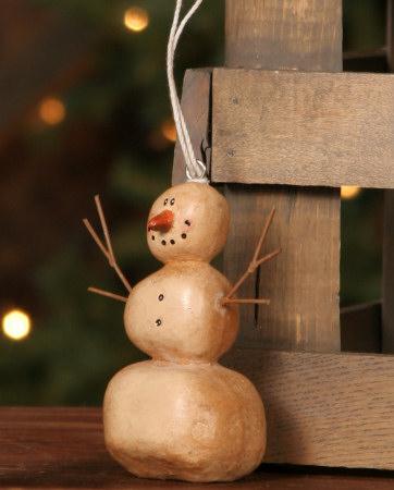 Primitive Snowman - Hanging