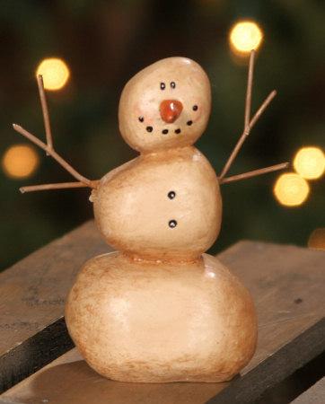 Primitive Snowman - Standing