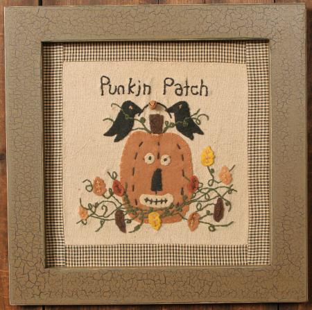 """Stitchery - """"Punkin Patch"""" - Frame"""