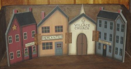 Mercantile Village Fold Out - NEW