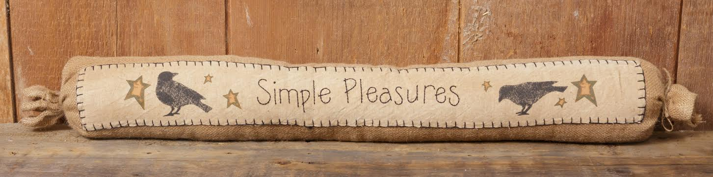 Simple Pleasures Collection - Door Draft Stopper - NEW