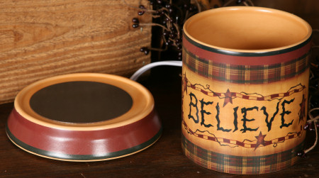 Believe Collection - Electric Candle Warmer