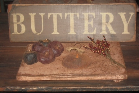 Buttery Board - Large, Putty/Brown-buttery boards, pastry boards, primitive decor, early prim,
