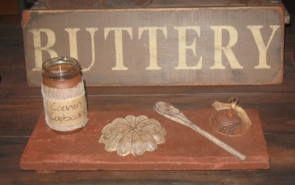 Buttery Board, Medium - Brown/Red-buttery boards, pastry boards, primitive, early prim,