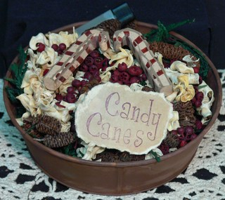 Bowl Fillers . . . Candy Canes