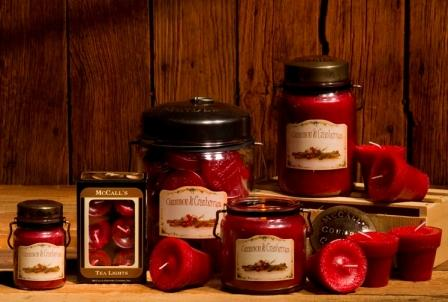 McCall's Country Canning - Cinnamon & Cranberries