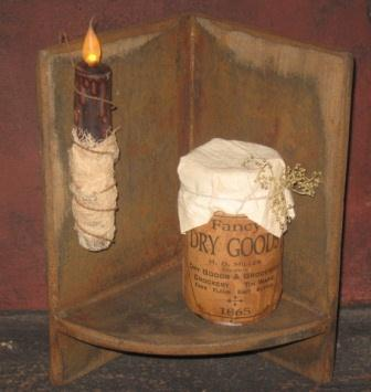 Corner Shelf, Mustard on Black-corner shelves, primitive, country, early prim, colonial,