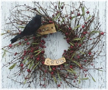 Crow Berry Wreath