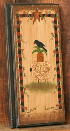 Crow/Pineapple/Sheep - Wooden Wall Hanging
