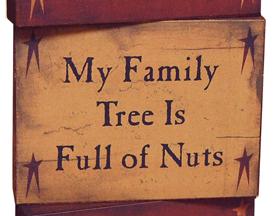 Family Tree Block, Wood
