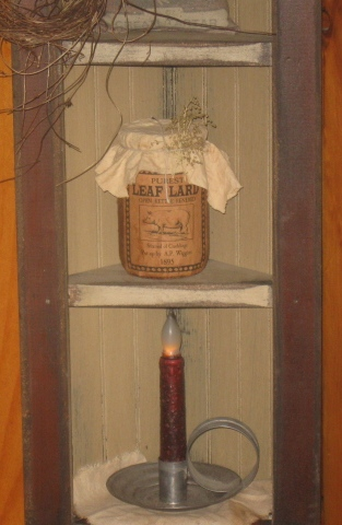 Kathy's Corner Cupboard-corner cabinet, furniture, handmade, primitive, country, wood wares, wood decor,cupboards, corner,
