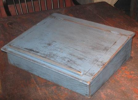 Primitive Lap Top Desk-lap top desks, primnitive, colonial, early prim, wood appliance covers