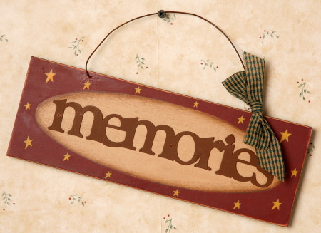 "Sign - ""Memories"", Tin Letters"