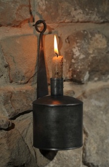 Primitive Oil Lamp-oil lamps, primitive, early prim,candle holders, tin, wall,