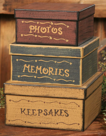 Nesting Boxes - Photos, Memories, Keepsakes-photos, memories, keepsakes, nesting boxes, shaker boxes,