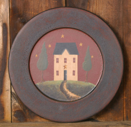 Plate - Primitive Home, Wood