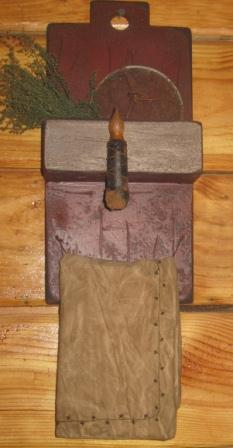 Primitive Soap/Towel Rack Gathering