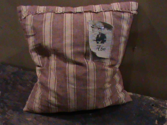 "Stitchery - ""Red Stripe"" - Pillow"