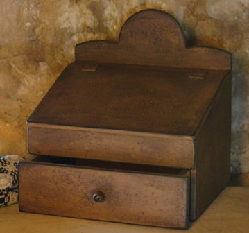 Secretary Desk - NEW-secretary desk, keepsake boxes, primitive furniture, early prim furniture,