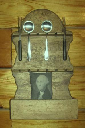 Primitive Spoon Rack - NEW