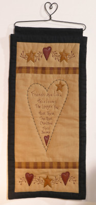 Star/Heart Collection - Wall Hanging