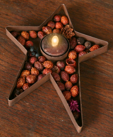 Primitive Flicker Tealights - Dark Tan